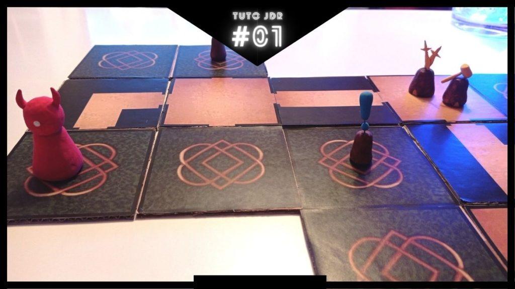 Tuto JdR : concevoir un système de tuiles pour créer un donjon !